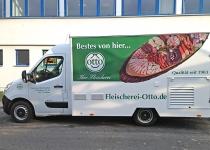 Fleischerei-Otto-Folierung