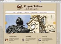 Erbgerichtsklause-Website