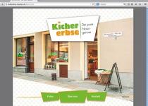 Kichererbse-Website